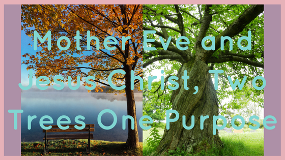 Mother Eve and Jesus Christ, Two Trees One Purpose